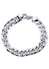 men white gold bracelet images Gold bracelet real gold bracelet tagged quot 500 1000 quot frostnyc jpg