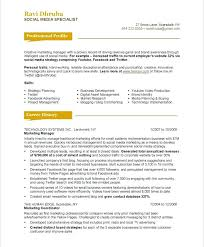 professional resume exles free marketing resume exles free resume templates resume exles