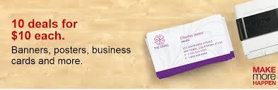 business cards deals staples 10 deals business cards postcards