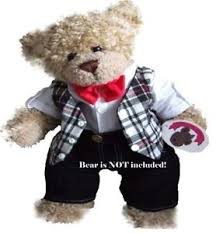 teddy clothes teddy clothes fit build a teddies bow tie