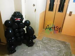 gorilla balloon balloon king kong gorilla size sculpture singapore balloon