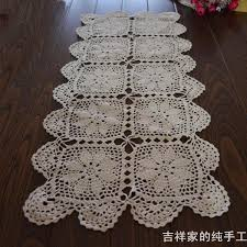 ikea table runners tablecloths free shipping fashion design cotton crochet table runner for home