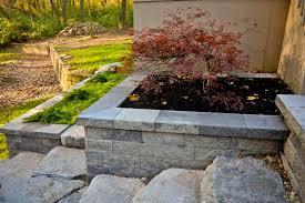 retaining walls u0026 garden walls in westerville ohio meacham run