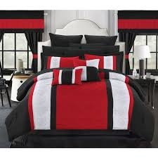 Red And White Comforter Sets Best 25 Red Bedding Sets Ideas On Pinterest Red Master Bedroom