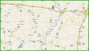 louisiana highway map maps south of i 20 us highway 65 in louisiana