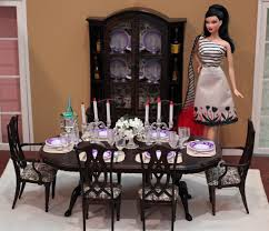 Monster High Doll House Furniture Dining Room Barbie Barbie Kitchen And Doll Houses