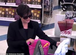 Shoo Elken kris jenner shops at the 99 cent store for prank daily mail
