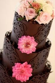 chocolat mariage gâteau de mariage dentelle de chocolat 30 idées de gâteau de mariage