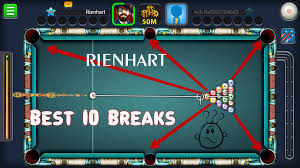 8 pool best 10 breaks clear the board in