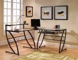 Modern Computer Desk Modern L Shaped Computer Desk Foter