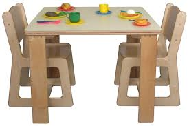 Kids Art Desk And Chair by Elegant Natural Design Of The Kids Table And Chair Set That Has