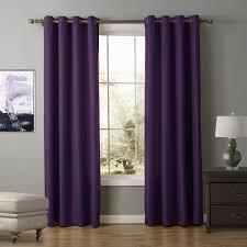 Blackout Curtains Windows Sunnyrain 1 Oxford Semi Blackout Curtain For Living Room