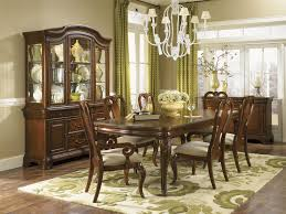 seven piece dining set with queen anne chairs by legacy classic