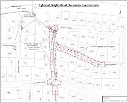 Map Of Tallahassee Florida by Inglewood Neighborhood Drainage Improvement Project Your Own