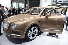 bentley suv 2015 interior it u0027ll swallow you whole 2015 frankfurt show u0027s humongous halls and