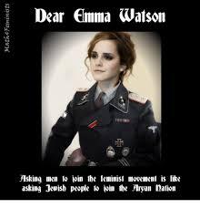 Emma Watson Meme - dear emma watson asking men to join the feminist movement is like