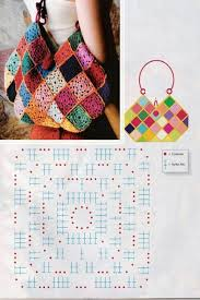 bag pattern in pinterest crochet bag pattern мотивы pinterest crocheted bags granny
