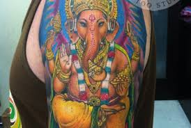 tattoo pictures color ganesha color tattoo balinesia tattoo