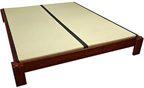 Tatami Mat Bed Frame Furniture Tatami Platform Bed Walnut