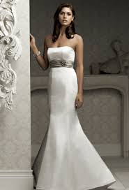 wedding dresses without straps being stylish with mermaid wedding gowns cherry