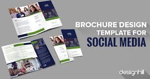 social media brochure template 5 top free brochure design templates