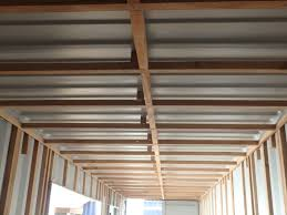 framing out a container home containerhomes net