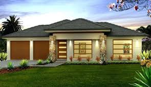 Single Storey Design e Story Home And House Plans At 1 Story