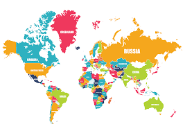 Interactive Map Of The World by Remix Of