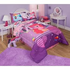 Cute Twin Bed Comforters My Little Pony Twin Full Bedding Comforter Walmart Com