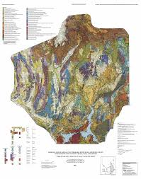 Unr Map Geologic Map Of Parts Of The Colorado White River And Death