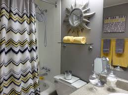 Yellow And Grey Bathroom Decorating Ideas Yellow And Gray Bathroom Ideas Chene Interiors