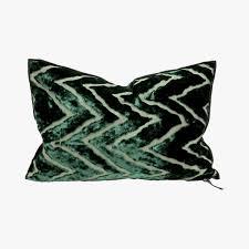 la maison du kilim coussin vice versa cushion emeraude maison de vacances pillow