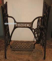 Antique Singer Sewing Machine Table How To Attach Quartz Counter Top To Treadle Sewing Machine Base