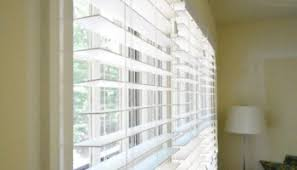 Installing Blinds On Windows Hanging Some White Faux Wood Blinds In The Bedroom Young House Love