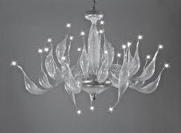 Handmade Chandeliers Lighting Contemporary Chandelier Blown Glass Incandescent Handmade