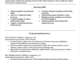 sample cna resume guideline nursing cover letter example justin