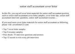 free download staff accountant cover letter from here and get