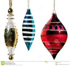 iridescent glass ornaments stock photo image 11937400
