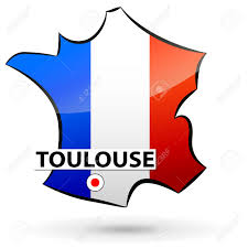 Map Icon Illustration Of French Map Icon For Toulouse Royalty Free Cliparts