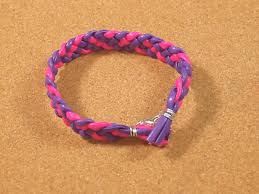 braided leather chain bracelet images How to make a braided leather bracelet 7 steps with pictures jpg