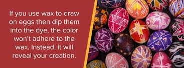 wax easter egg decorating how to out an egg without cracking the shell sauder eggs