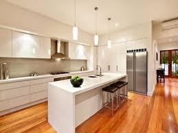 cuisine blanche avec ilot central cuisine blanche ilot cuisine en image