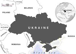 Blank Russia Map by Ukraine Large Size Blank Map Showing Where Ukraine Is On The
