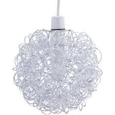 buy living scribble aluminium ball ceiling light shade chrome at