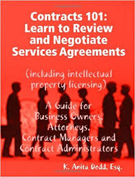 contracts 101 learn to review and negotiate services agreements