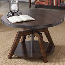 adjustable height coffee tables youll love wayfair hydraulic table