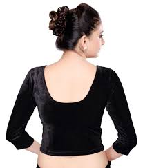 velvet blouse msm black velvet blouses buy msm black velvet blouses at
