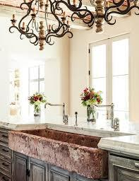 distressed white kitchen island mediterranean kitchen with distressed apron sink