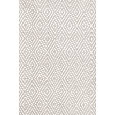 Dash And Albert Diamond by Diamond Platinum White Indoor Outdoor Rug Dash U0026 Albert
