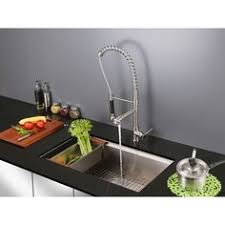 kraus commercial pre rinse chrome kitchen faucet kraus commercial pre rinse chrome kitchen faucet overstock